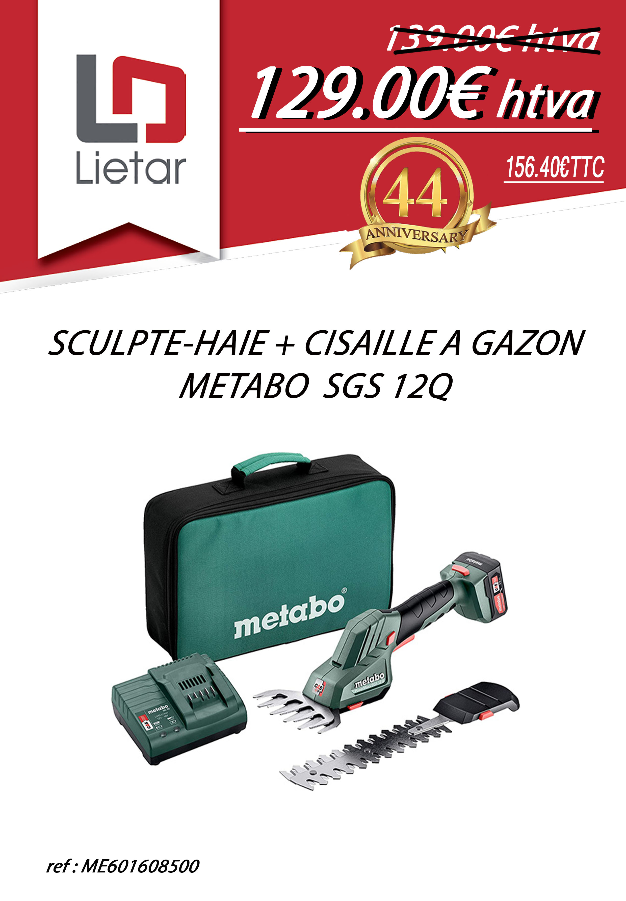 SCULPTE HAIE METABO