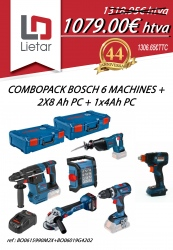 COMBOPACK BOSCH 6 MACHINES